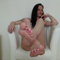 Ihre göttlichen Füße