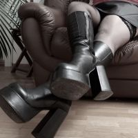 Luxuspflege meiner Stiefel