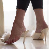 Fußgöttin