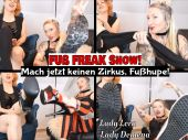 Foto zu Blogeintrag Neuer clip online! FUSS FREAK Show! Mach jetzt keinen Zirkus, Fußhupe! (de)