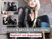 Foto zu Blogeintrag Neuer Clip Jetzt Online! Gayfotzen Arschlochtraining! Abgefickt und abgeschluckt! (de)
