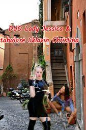 Foto zu Blogeintrag Lady Jessica bietet DUO mit junger schlanken tabulosen Sklavin