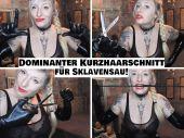 Foto zu Blogeintrag Neuer Clip Online! Dominanter Kurzhaarschnitt für Sklavensau! (de)
