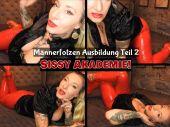 Foto zu Blogeintrag Neuer Clip Online! Sissy Akademie! Männerfotzen Ausbildung! Teil 2!  (de)