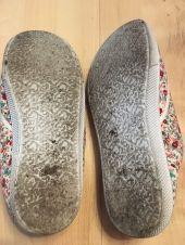 Foto zu Blogeintrag Barfuss getragene Schuhe..