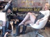 Foto zu Blogeintrag POV Gummistiefel Sucht! Hunter trampling on your COCK!   | by Lady_Demona