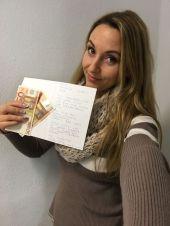 Foto zu Blogeintrag Cashbriefe machen Freude