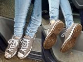 Foto zu Blogeintrag Mistwetter = Dreckige Schuhe