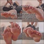 Foto zu Blogeintrag MINDFUCK - Du wichst nur noch für meine Füße