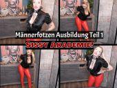 Foto zu Blogeintrag Neuer Clip  Online! Sissy Akademie! Männerfotzen Ausbildung Teil 1! (de)