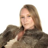 Foto zu Blogeintrag Venus im Pelz mit echten Nylons