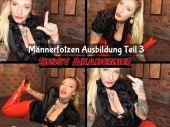 Foto zu Blogeintrag Neuer Clip Online! Sissy Akademie! Männerfotzen Ausbildung Teil 3! (de)