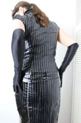 Foto zu Blogeintrag Lack-Kostüm