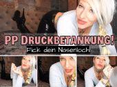 Foto zu Blogeintrag Neuer Clip Jetze Online! PP Druckbetankung- Fick dein Nasenloch! (de)