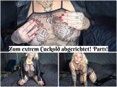 Foto zu Blogeintrag Neuer Clip Online! Zum extrem Cuckold abgerichtet! Part1!