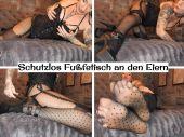 Foto zu Blogeintrag Neuer Clip Online! Schutzlos! Fußfetisch an den Eiern! (de)