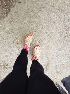Fuß und Schuhanbetung - Teil2