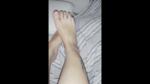 Fußmassage mit Vibrator